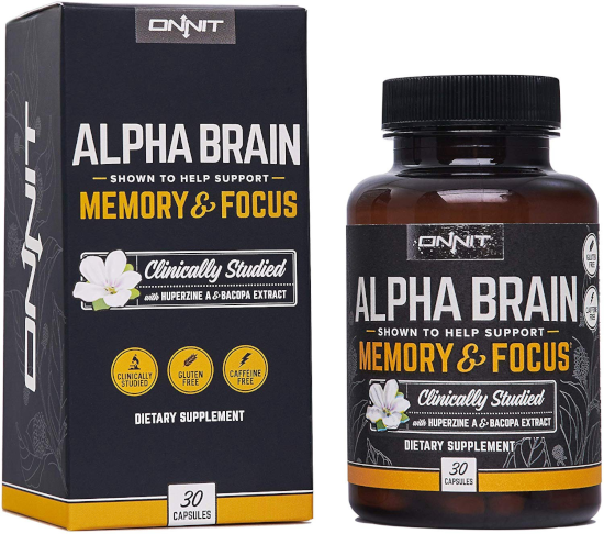 Alpha Brain for anxiety