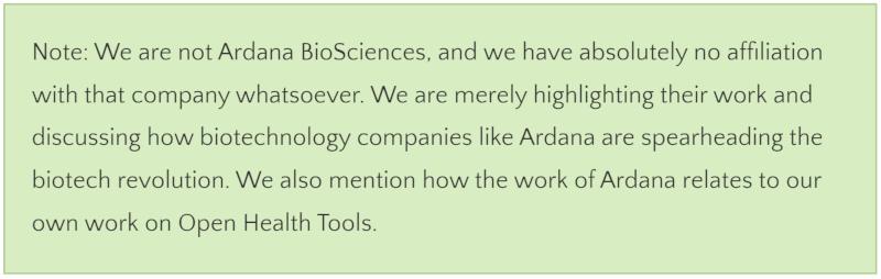 Ardana Bioscience