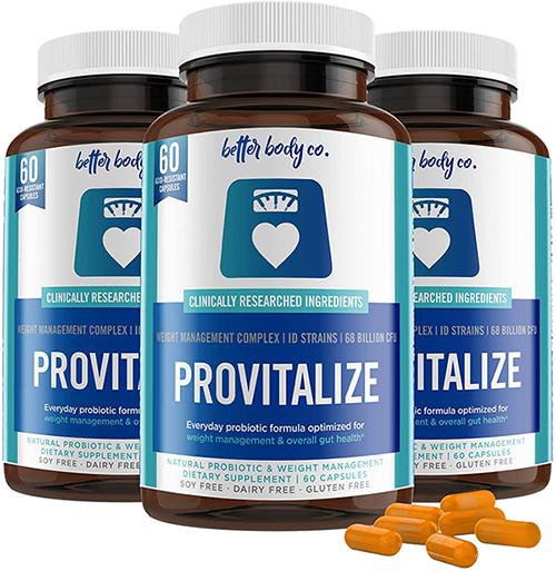 Provitalize probiotic ingredients review
