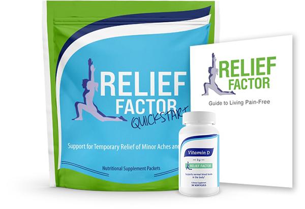 Ingredients in Relief Factor
