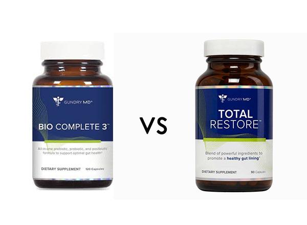 Bio Complete 3 vs Total Restore