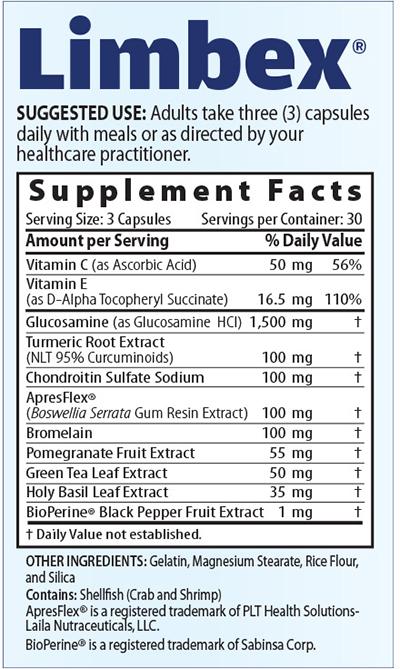 Limbex ingredients